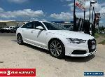 2015 Audi A6 C7 S Line Sedan 4dr S tronic 7sp 2.0DT [MY16] Ibis White Automatic for Sale